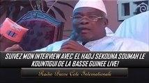 El hadj Sékhouna tranche: «Je ne suis pas dans l'affaire de 3ème mandat…»