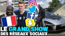 De Ligt pose avec le maillot des Bleus, Alves se met au français, le nouveau bolide de CR7 : le Grand Show des Réseaux Sociaux