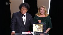 La Palme d'Or est attribuée à Parasite de Bong Joon-Ho - Cannes 2019