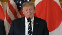 President Trump in Japan for state visit