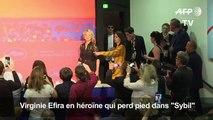 """Cannes: Virginie Efira en héroïne qui perd pied dans """"Sibyl"""""""
