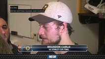 Charlie McAvoy, Brandon Carlo Readying For First Career Stanley Cup Final