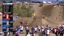 2019 Fox Raceway National: 250 Moto 2 Hunter Lawrence to the front