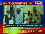 PM Narendra Modi to visit Gujarat, seek blessings from mother Heeraben Modi