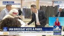Européennes: Ian Brossat a voté dans le 18e arrondissement de Paris