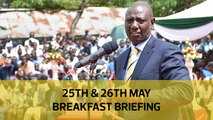 Dp Ruto's quandary | Raila exposed swindlers | Cremation gains acceptance: Your Breakfast Briefing