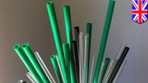 Sedotan plastik, cotton buds dan pengaduk plastik dilarang di Inggris - TomoNews