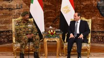 Sudan's Military Council leader meets with Egyptian President