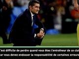 """Copa del Rey - Valverde : """"J'endosse la responsabilité de certaines erreurs"""""""