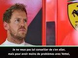 """Ferrari - Merzario : """"Vettel est sur le déclin et Leclerc devrait s'épanouir"""""""