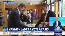 Européennes: Yannick Jadot a voté dans le 11e arrondissement de Paris