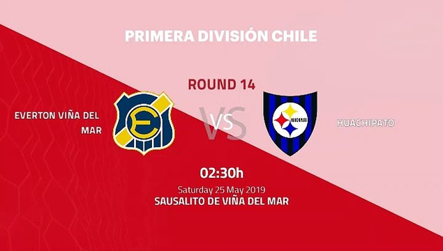 Pre match day between Everton Viña del Mar and Huachipato Round 14 Primera - 1 League
