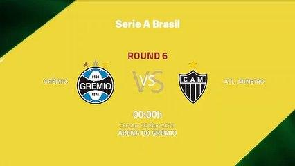 Pre match day between Grêmio and Atl. Mineiro Round 6 Série A