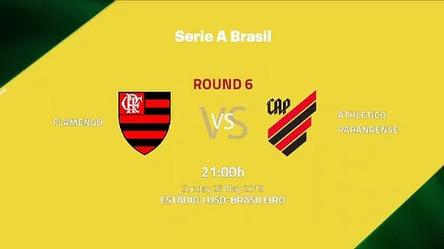 Pre match day between Flamengo and Athletico Paranaense Round 6 Série A