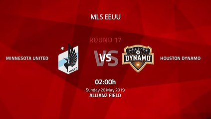 Pre match day between Minnesota United and Houston Dynamo Round 17 MLS