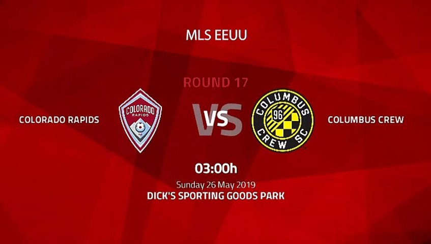 Pre match day between Colorado Rapids and Columbus Crew Round 17 MLS