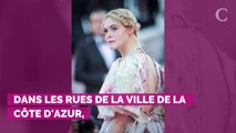 PHOTOS. Cannes 2019 : Des fleurs, de la dentelle, des couleurs pastel... Retour sur tous les looks d'Elle Fanning