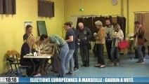 Élections européennes : le maire de Marseille a voté