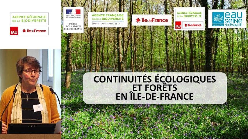 """1 -  Lucile RAMBAUD - Rencontre technique """"Continuités écologiques et forêts"""" 2019"""