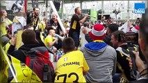La folie en jaune et noir des supporters de CSMH