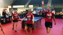 Tennis de table (Pro dames) : les filles d'Etival sont championnes de France
