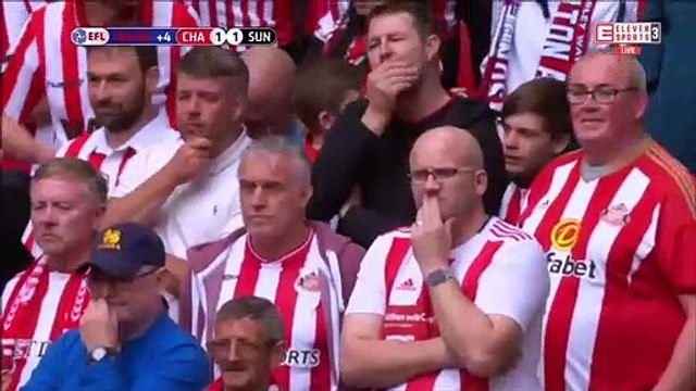 Charlton Athletic [2]-1 Sunderland - Patrick Bauer 94th minute winner