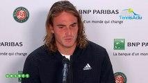 Roland-Garros 2019 - Stefanos Tsitsipas à son aise sur terre pour son 1er tour à Roland-Garros