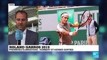 Retour gagnant de Roger Federer à Roland-Garros