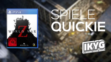 World War Z - Spiele-Quickie