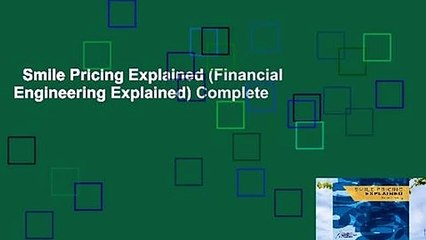 smile pricing explained financial engineering explained complete