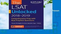 [BEST SELLING]  LSAT Unlocked 2018-2019: Proven Strategies For Every Question Type + Online