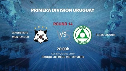 Pre match day between Wanderers Montevideo and Plaza Colonia Round 14 Apertura Uruguay