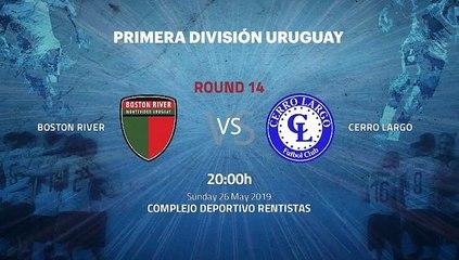 Pre match day between Boston River and Cerro Largo Round 14 Apertura Uruguay