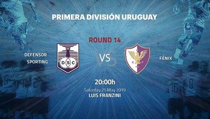 Pre match day between Defensor Sporting and Fénix Round 14 Apertura Uruguay