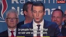 Jordan Bardella : « le peuple français a infligé ce soir une sanction claire »