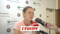 Ponchet «De belles choses à retenir» - Tennis - Roland-Garros (F)