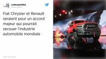 Automobile. Renault et Fiat Chrysler discutent d'un rapprochement