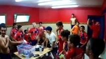 U15, une victoire cela s'arrose avec les coaches