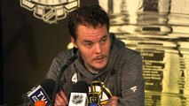 Players speak at Media Day ahead of Stanley Cup Final, Boston Bruins v St. Louis Blues