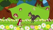 Le Petit Chaperon Rouge | dessin animé en français - conte pour enfants | version courte
