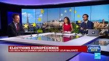 Élections européennes : Les deux plus grands groupes perdent leur majorité au Parlement européen