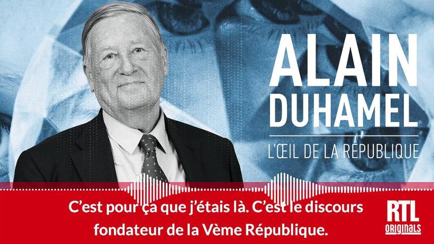 """Le """"choc politique"""" d'Alain Duhamel face au général de Gaulle"""