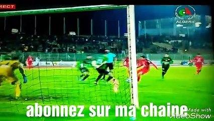 Buts match CSC 1-2 USMA ligue 1 Algérie