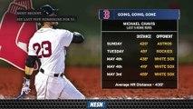 Michael Chavis' Last Five Home Runs Have Been Monstrous