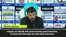 (Subtitled) Gattuso lashes out at AC Milan exit rumours from the media