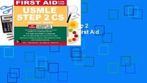 First Aid for the USMLE Step 2 CS  Best Sellers Rank : #4  First Aid for the USMLE Step 2 CS