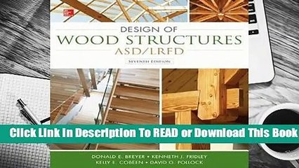 [Read] Design of Wood Structures--ASD/LRFD  For Full