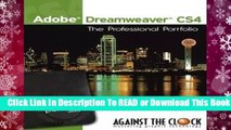 [Read] Adobe Dreamweaver CS4: The Professional Portfolio  For Full