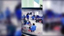 Des ouvriers attaqué par un sanglier pendant la pause repas