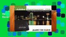 Adobe Dreamweaver CS4: The Professional Portfolio  Review